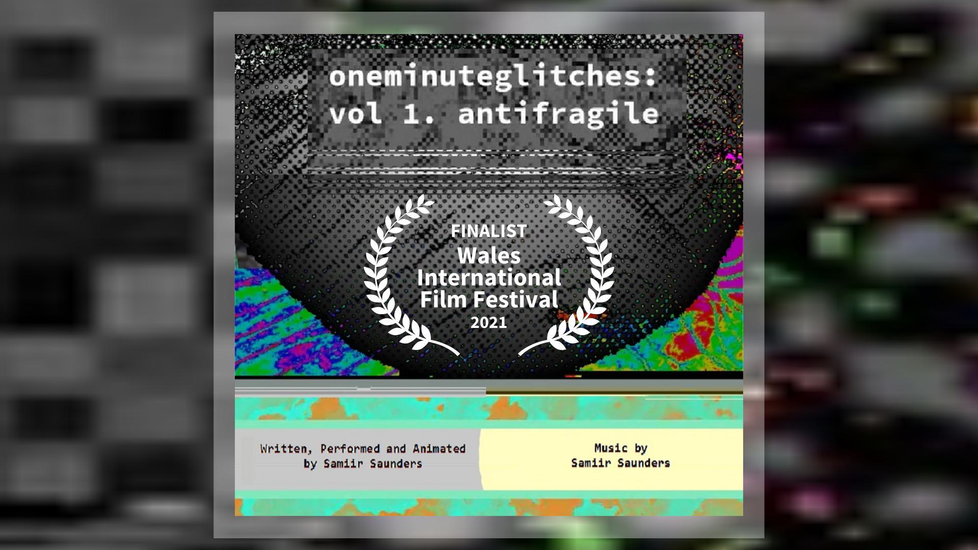 oneminuteglitches: vol 1. antifragile