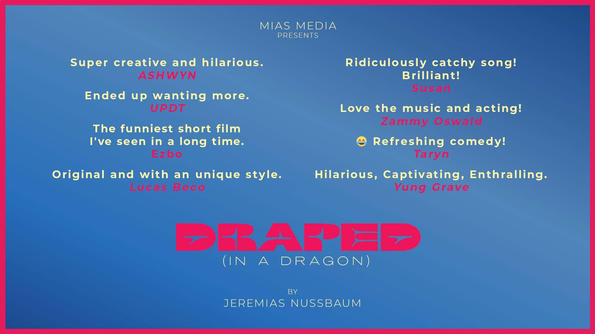Draped In A Dragon