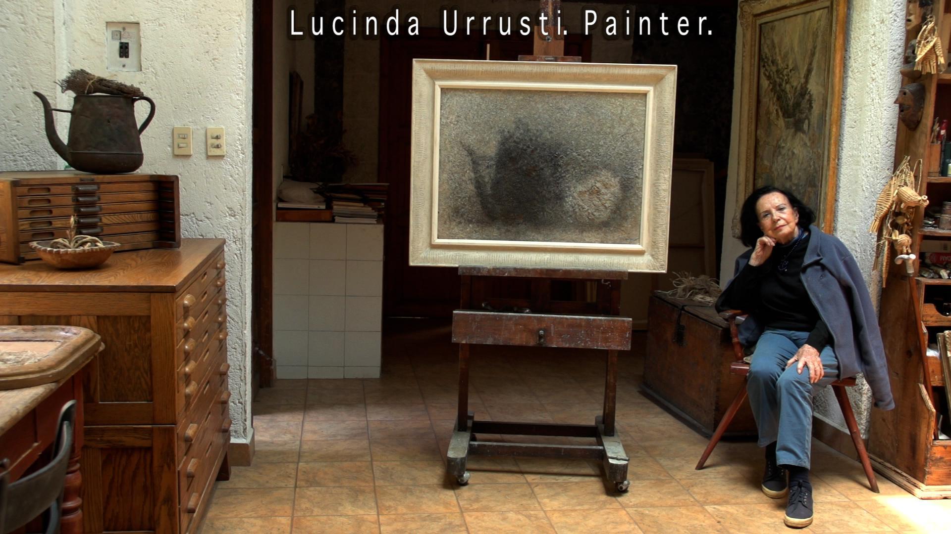 Lucinda Urrusti. Painter.